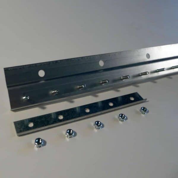 Befestigungsschiene STD Stahl Galvanisiert Wandbefestigung 1,5 m