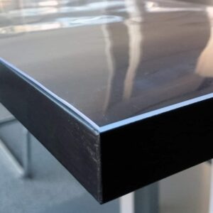 Durchsichtige Transparente PVC Tischdecke nach Maß 2mm dicke Tischfolie