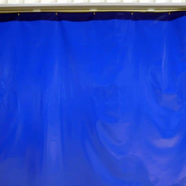 Industrievorhang Kombo Blau