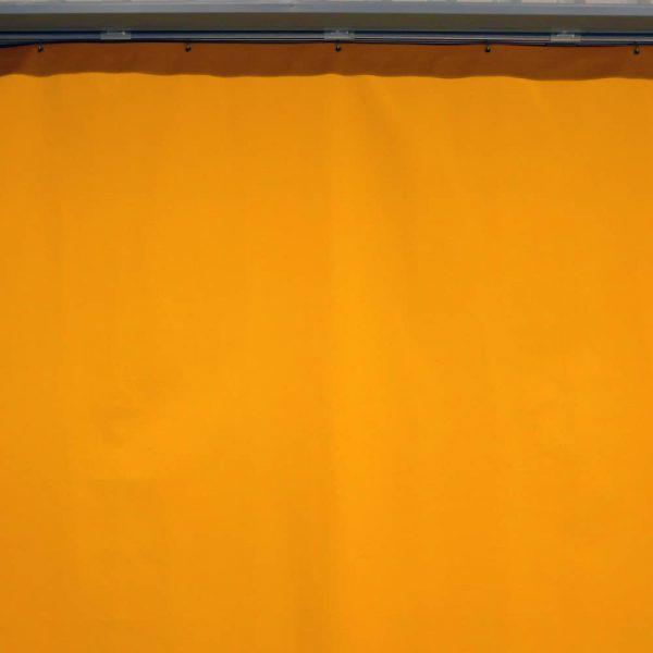 Industrievorhang Kombo Gelb