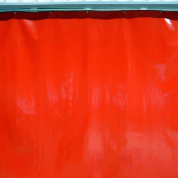 Industrievorhang Kombo Rot