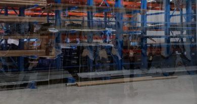 Industrievorhang Transparent nach Maß