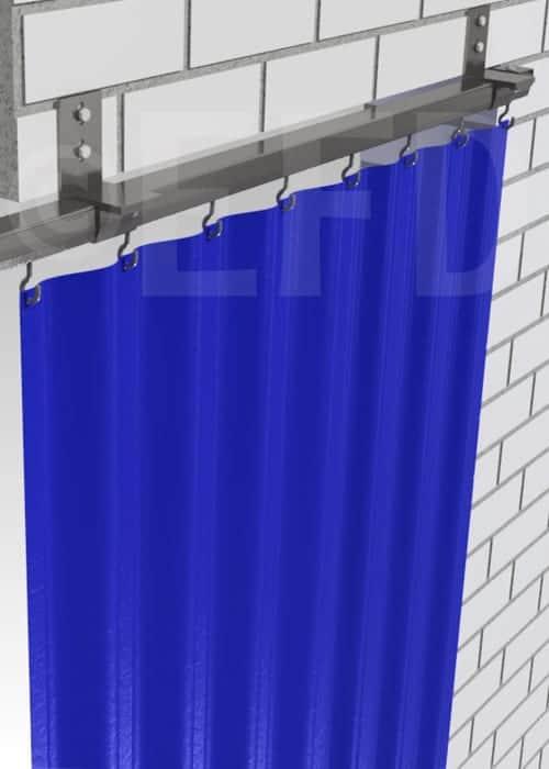 Industrievorhang-verschiebbar-befestigungsschienen-wand