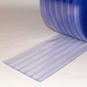 PVC Streifen Meterware Doppelt Gerippt 300 mm x 3 mm
