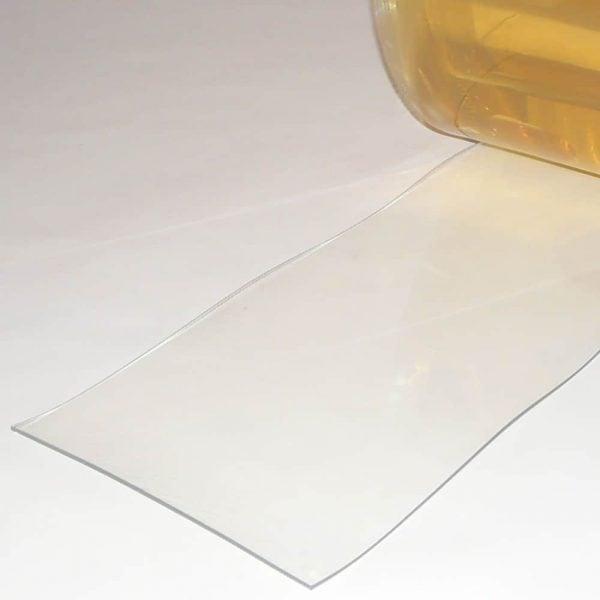 PVC Streifen Vorhang Meterware Helltransparent 300 mm x 3 mm