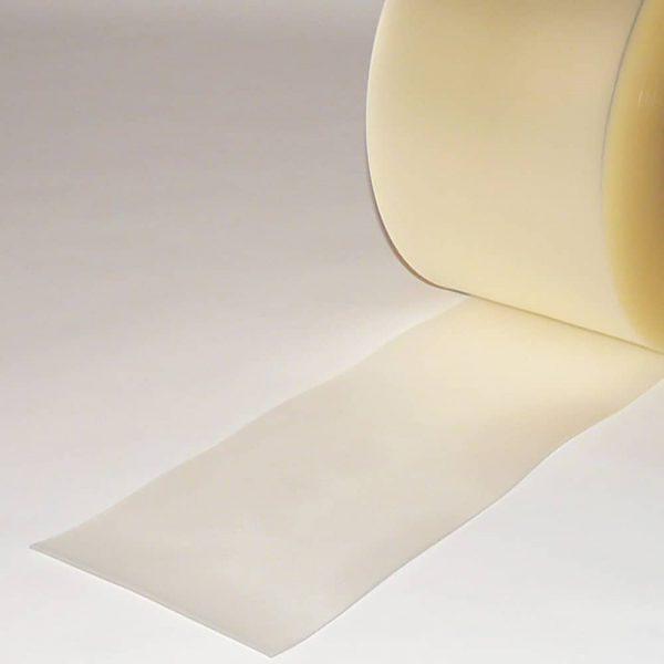 PVC Streifen Vorhang Meterware Mattiert Transparent 200 mm x 2 mm