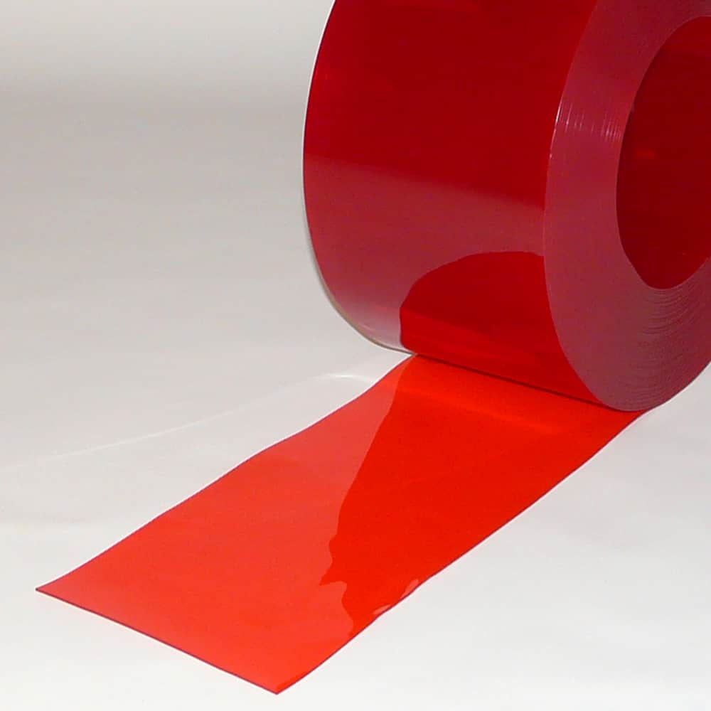 pvc streifen meterware rot transparent 200 x 2 mm shop efd. Black Bedroom Furniture Sets. Home Design Ideas