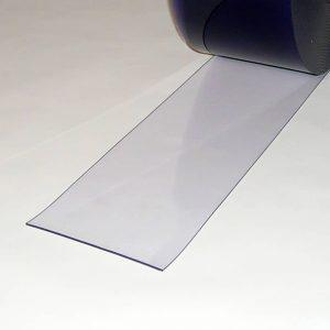 PVC Streifen Vorhang Meterware Transparent 200 mm x 3 mm