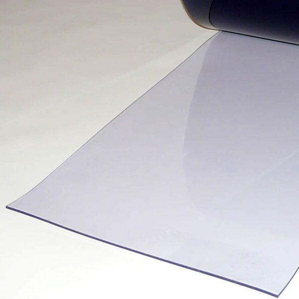 PVC Streifen Meterware Transparent 400 mm x 4 mm