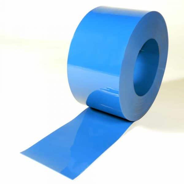 PVC Streifen Rollenware Blau 50 m x 200 mm x 2 mm