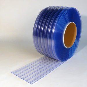 PVC Streifen Rollenware Doppelt Gerippt 50 m x 300 mm x 3 mm