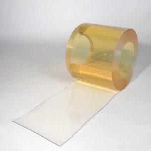 PVC Streifen Rollenware Helltransparent 25 m x 300 mm x 3 mm