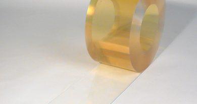 PVC Streifen Rollenware Lebensmittelecht Kühlraum / Kühlhaus / Kühlzelle für Kühlzelle 50 m x 200 mm x 2 mm