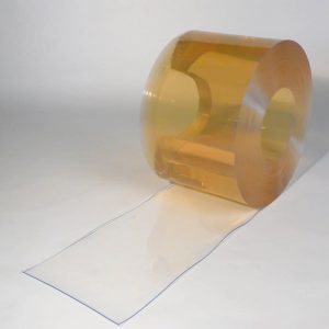 PVC Streifen Rollenware Lebensmittelecht Kühlraum / Kühlhaus / Kühlzelle 50 m x 300 mm x 3 mm