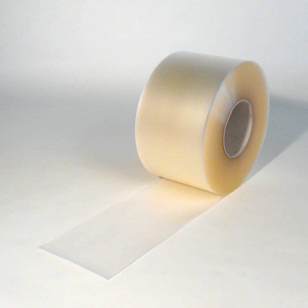 PVC Streifen Rollenware Mattiert Transparent 50 m x 200 mm x 2 mm