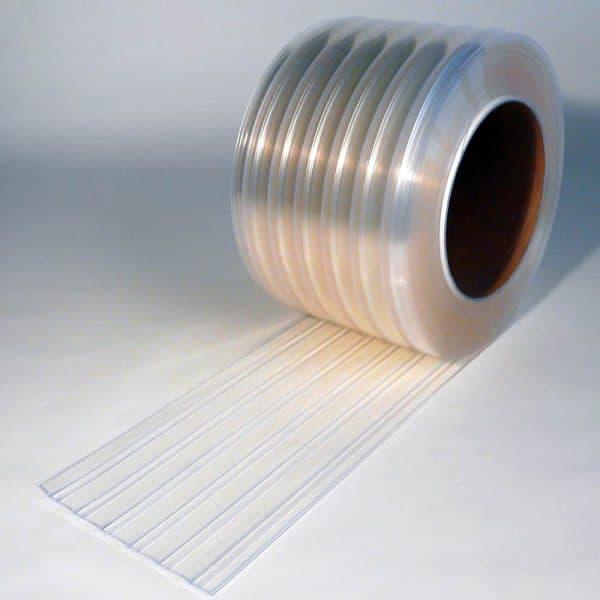 PVC Streifen Rollenware Tiefkülung Gerippt 50 m x 300 mm x 3 mm