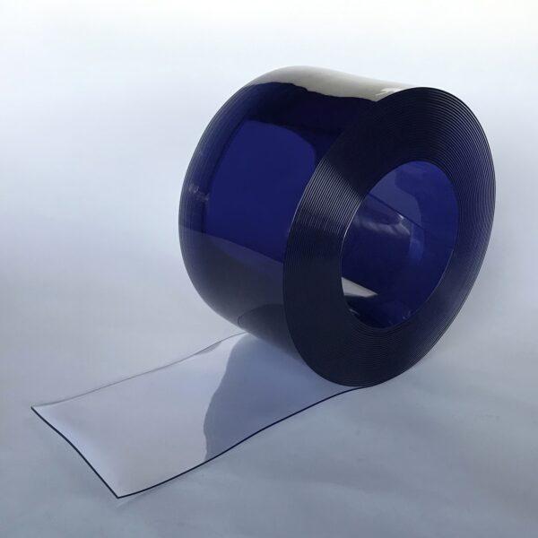 PVC Streifen 200 mm x 3 mm Rolle Transparent