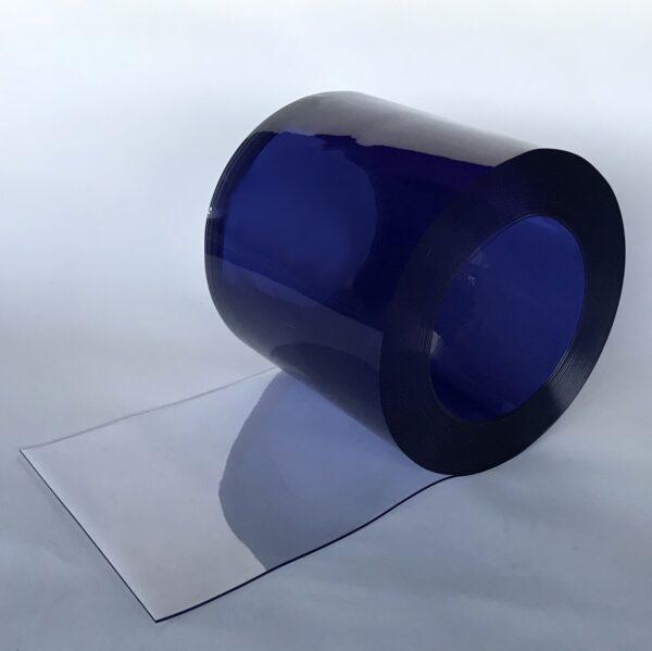 PVC Streifen 300 mm x 2 mm Transparent Rollenware
