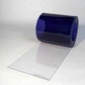 PVC Streifen Rollenware Transparent 50 m x 400 mm x 2 mm