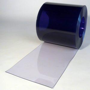PVC Streifen Rollenware Transparent 50 m x 400 mm x 4 mm