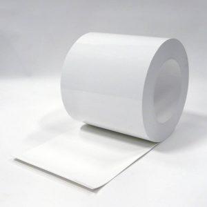 PVC Streifen Rollenware Weiss 50 m x 300 mm x 3 mm