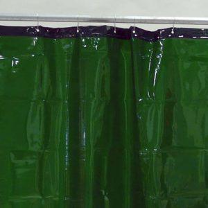 Schweißvorhang Grün 130 cm 220 cm