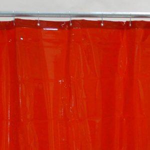 Schweißvorhang Rot 130 cm 220 cm