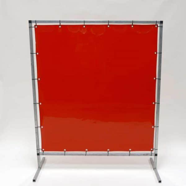Meh über Schweißschutzwand Folie Rot 140 cm x 180 cm
