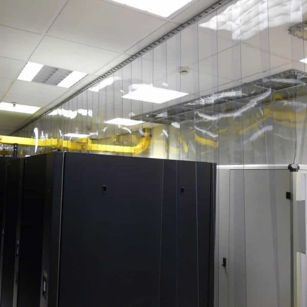 PVC Streifenvorhang Antistatisch Transparent nach Maß