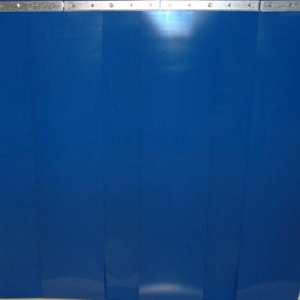 PVC Streifenvorhang Blau nach Maß