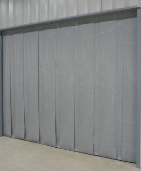 PVC Streifenvorhang Grau nach Maß