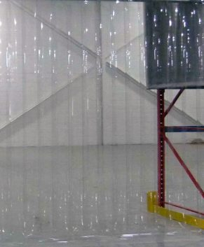 PVC Streifenvorhang Tiefkühlzelle nach Maß