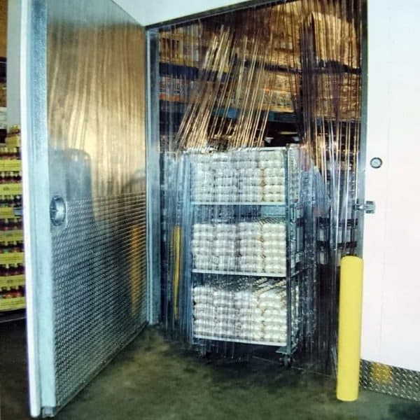 PVC Streifenvorhang Tiefkühlzelle Gerippt nach Maß