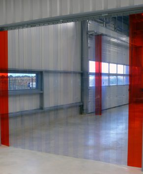 PVC Streifenvorhang Transparent nach Maß