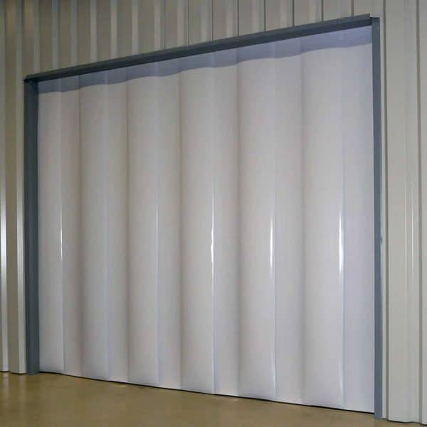 PVC Streifenvorhang Weiß nach Maß