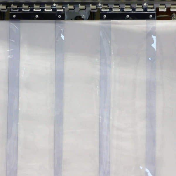 Streifenvorhang fix fertig 1230 x 2000 x 2 mm Streifenbreite 200 mm