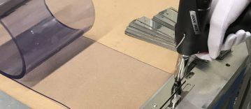 einfach Weich PVC Vorhang Streifen ersetzen