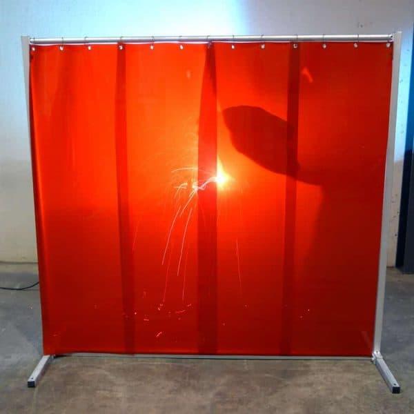 L210 Schweisslamellen Rot 570x1mm Schweisser