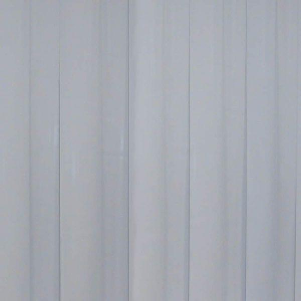 Streifen Vorhang Weiss